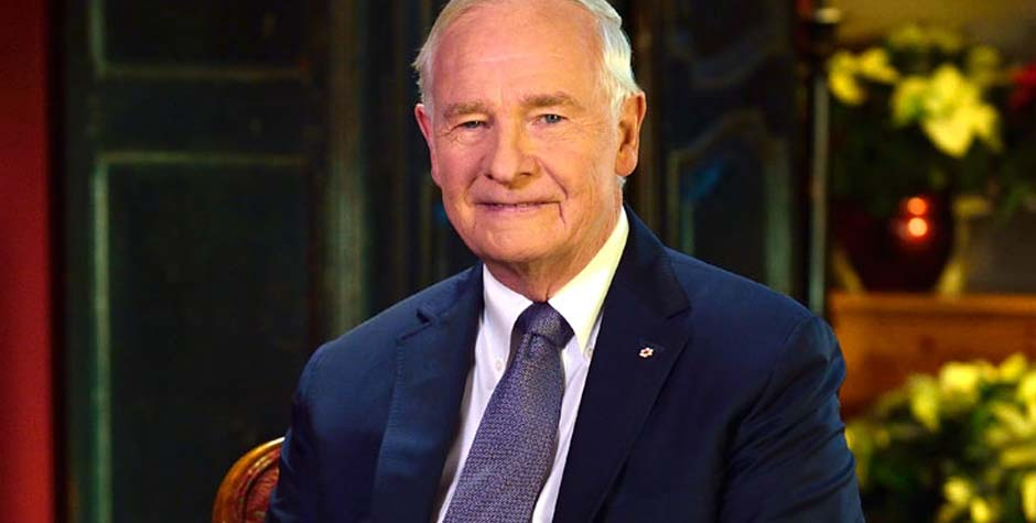 His Excellency the Right Honourable David L. Johnston, C.C., C.M.M., C.O.M., C.D., Governor General of Canada