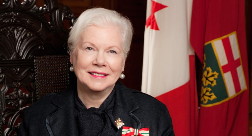 Her Honour the Honourable Elizabeth Dowdeswell, OC, OOnt, Lieutenant Governor of Ontario