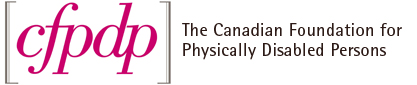 Canadian Foundation for Physically Disabled Persons Logo