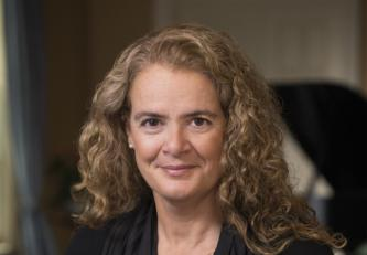 Her Excellency the Right Honourable Julie Payette, Governor General and Commander-in-Chief of Canada